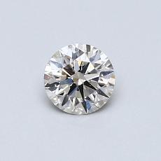 目前的寶石: 0.42  克拉圓形切割