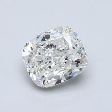 1.00-Carat Cushion Diamond Very Good H VVS2