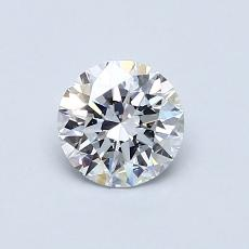 Recommended Stone #1: 0.62-Carat Round Cut
