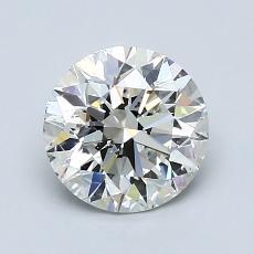 推薦鑽石 #3: 1.30  克拉圓形切割