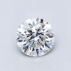 Recommended Stone #2: 0,81-Carat Round Cut