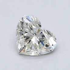1.03-Carat Heart Diamond Very Good K SI2