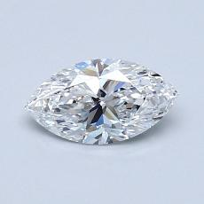 Recommended Stone #2: 0,60-Carat Marquise Cut