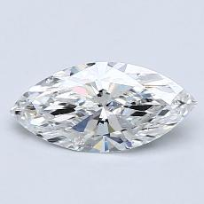 0.80-Carat Marquise Diamond Very Good E SI1