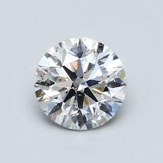 Recommended Stone #1: 1.35-Carat Round Cut