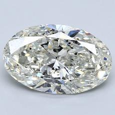 目前的寶石: 2.81  克拉橢圓形切割