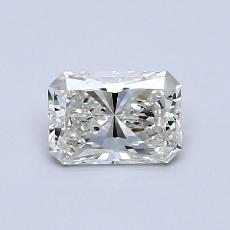 0.63-Carat Radiant Diamond Very Good J SI1