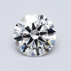 1.01-Carat Round Diamond Ideal E VVS2
