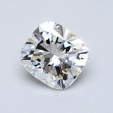 1,01-Carat Cushion Diamond Very Good F VS2