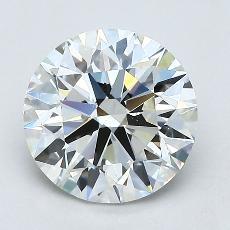 Pierre recommandée n°1: Diamant taille ronde 1,70 carat