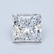 1.20 Carat 公主方形 Diamond 非常好 E VS2
