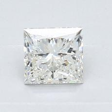 0.90-Carat Princess Diamond Very Good I VVS2