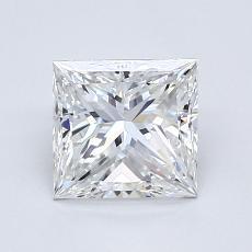 1,28-Carat Princess Diamond Very Good E VVS2