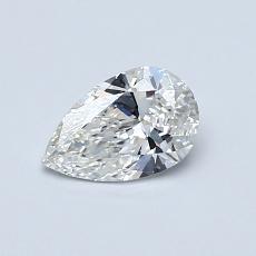 0,50-Carat Pear Diamond Very Good F VS1