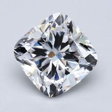 3.51-Carat Cushion Diamond Very Good G VS1