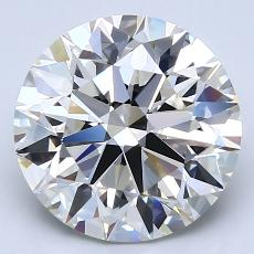 Recommended Stone #1: 3.50-Carat Round Cut