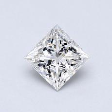 0.50-Carat Princess Diamond Very Good G VS2