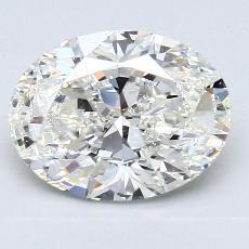 2.01-Carat Oval Diamond Very Good H VS1