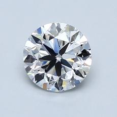1.00-Carat Round Diamond Very Good E VS1
