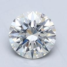 1,20 Carat Rond Diamond Idéale H SI1