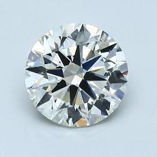 1,30 Carat Rond Diamond Idéale K VS1