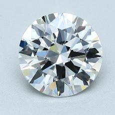 推薦鑽石 #4: 1.64  克拉圓形切割