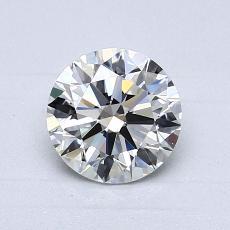 1,01 Carat Rond Diamond Idéale I VVS1