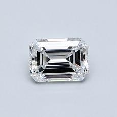 Recommended Stone #1: 0.56-Carat Emerald Cut Diamond