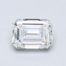 Recommended Stone #1: 0,80-Carat Emerald Cut Diamond