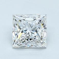 Recommended Stone #2: 2.10-Carat Princess Cut