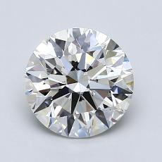 1.52-Carat Round Diamond Ideal H VS1