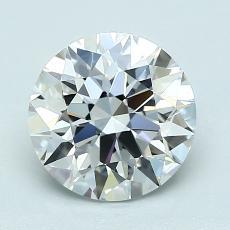 1.70 Carat 圓形 Diamond 理想 E VVS2