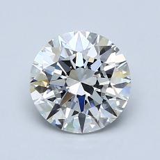 推荐宝石 4:1.18克拉圆形切割钻石