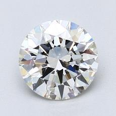 1.50 Carat 圓形 Diamond 理想 I VS2