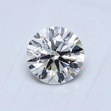 0,70 Carat Rond Diamond Idéale I VS2