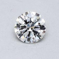 Recommended Stone #3: 0.57-Carat Round Cut Diamond