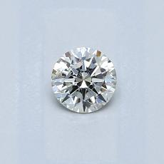 Recommended Stone #1: 0.30-Carat Round Cut