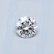 0,30 Carat Redondo Diamond Ideal G VS2