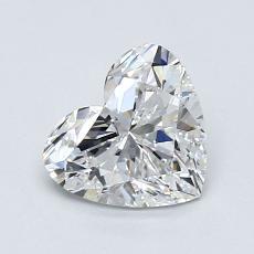 1.01-Carat Heart Diamond Very Good E IF