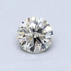 推薦鑽石 #1: 0.60  克拉圓形切割