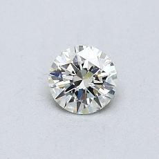 推薦鑽石 #1: 0.30  克拉圓形切割