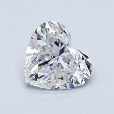 1.01 Carat 心形 Diamond 非常好 E VS1