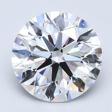 Recommended Stone #2: 2,70-Carat Round Cut