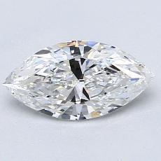 1.06-Carat Marquise Diamond Very Good F VVS2