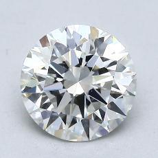 1,50 Carat Rond Diamond Idéale H VS2