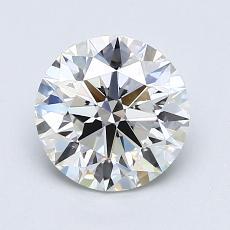 1.50-Carat Round Diamond Ideal G VS1