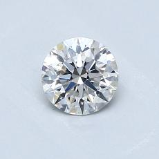 0.51-Carat Round Diamond Ideal G VS2