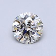 0,71 Carat Rond Diamond Idéale K SI1