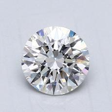 推荐宝石 3:0.76克拉圆形切割钻石