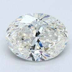 1.71-Carat Oval Diamond Very Good H VS1